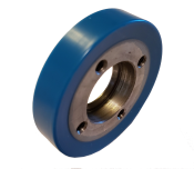 90-400271-000 - HUB & TIRE (UPPER BALL WHEEL - HARD)