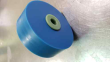 90-200114-000 - DECK ROLLER - URETHANE BLUE WITH ENVIRO HUB