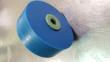 90-200114-000 - DECK ROLLER - URETHANE BLUE WITH ENVIRO HUB